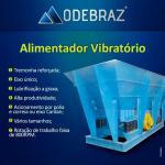 Alimentador vibratório para britador