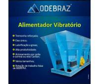 Alimentador vibratório mineração